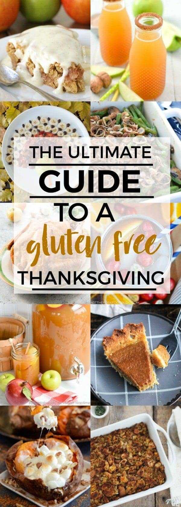 Recipes for the ultimate guide to a gluten free menu plus your ultimate guide to a gluten free Thanksgiving on What The Fork | @whattheforkblog | whattheforkfoodblog.com