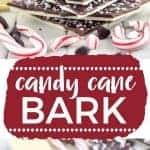 Easy homemade Candy Cane Bark recipe from @whattheforkblog   whattheforkfoodblog.com   homemade candy   chocolate   white chocolate   peppermint bark   homemade gifts