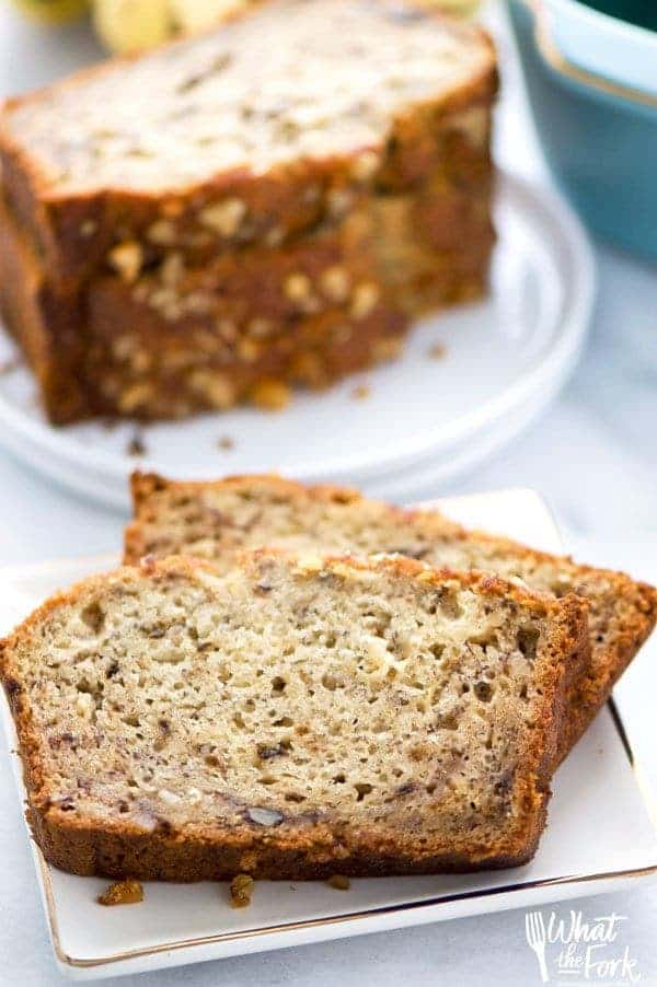 The Best Gluten Free Banana Bread What The Fork