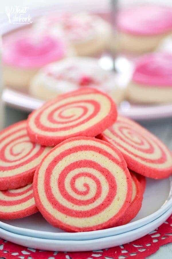 gluten free cherry pinwheel cookies   what the fork