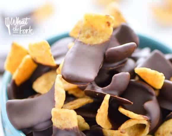 Chocolate Dipped Fritos aka Fritos Jets