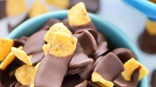 Chocolate Dipped Fritos aka Fritos Jets