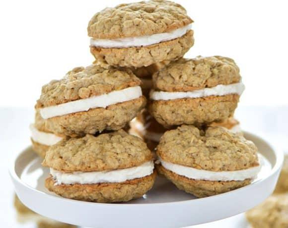 Gluten Free Oatmeal Sandwich Cookies