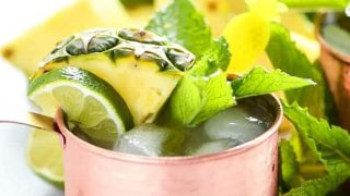 Simple Pineapple Moscow Mule Recipe