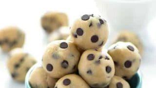Gluten Free Edible Chocolate Chip Cookie Dough