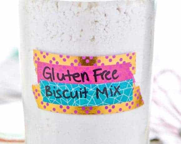How To Make Gluten Free Biscuit Mix