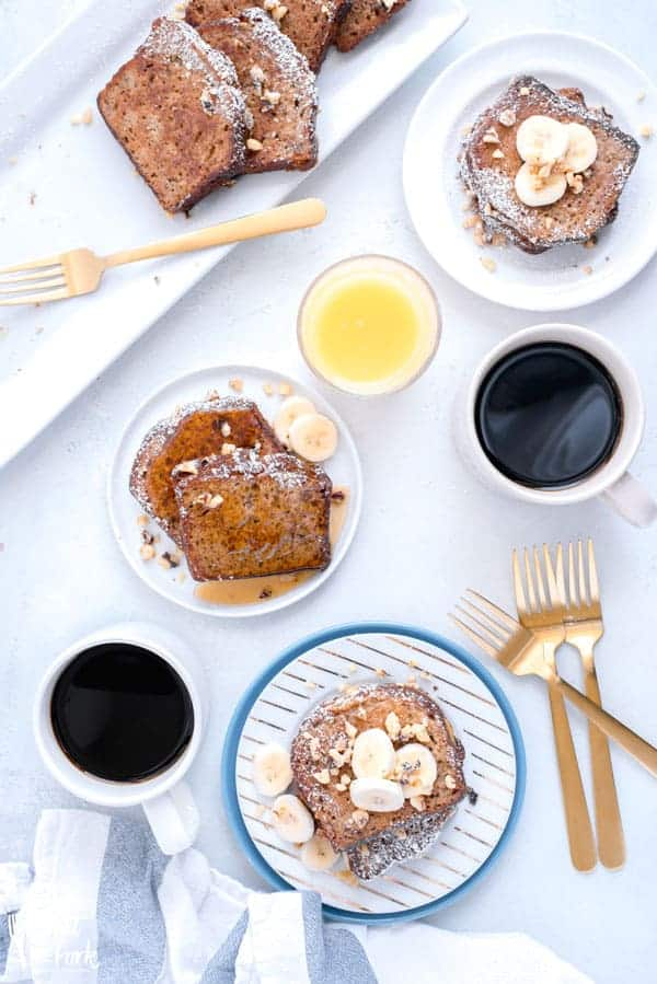 Gluten free banana bread french toast what the fork did you make gluten free banana bread recently and have some leftover turn it into forumfinder Image collections