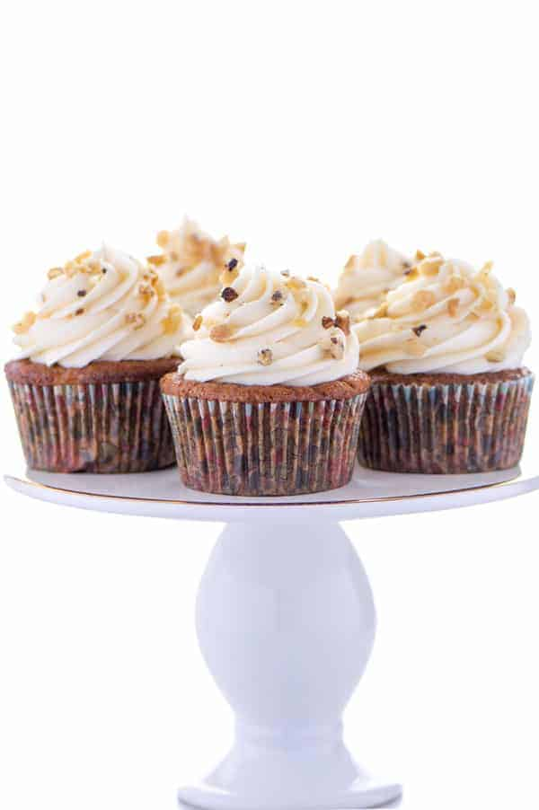 Gluten Free Carrot Cake Cupcakes What The Fork