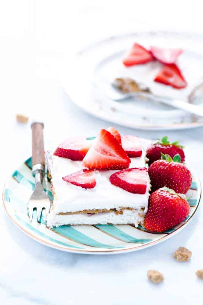 Gluten Free Strawberry Icebox Cake - What the Fork