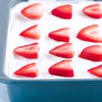 Gluten Free Strawberry Icebox Cake