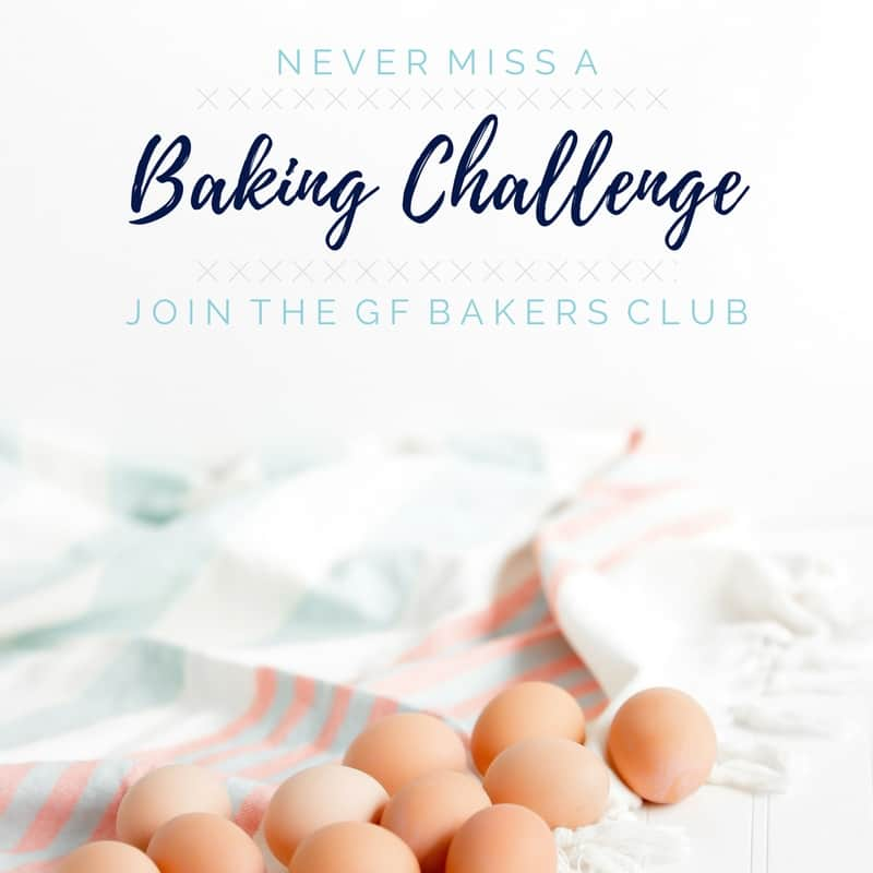image for gluten free baking challenge email subscription