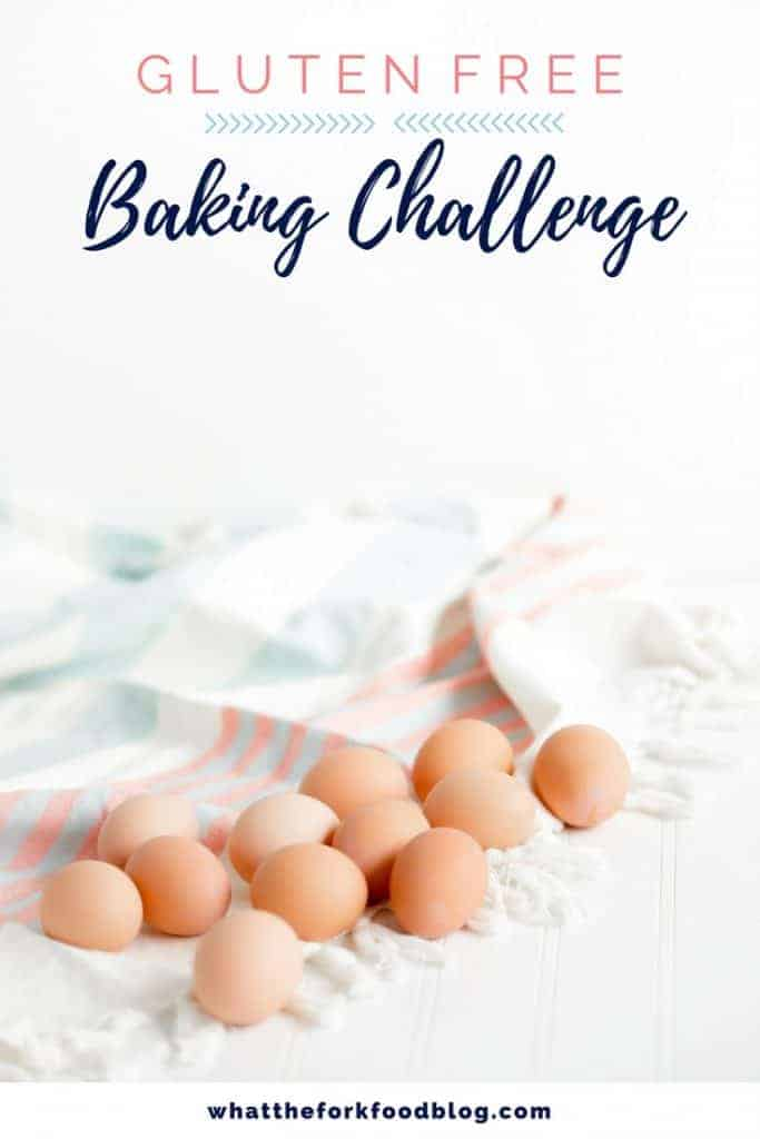 May Gluten Free Baking Challenge image hosted by What The Fork Food Blog