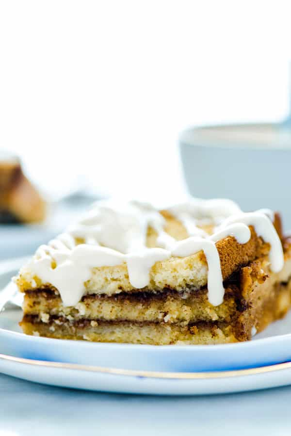 Gluten Free Overnight French Toast Casserole with Cinnamon Swirl - What the Fork