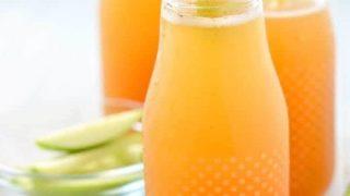 2 Ingredient Apple Cider Mimosas