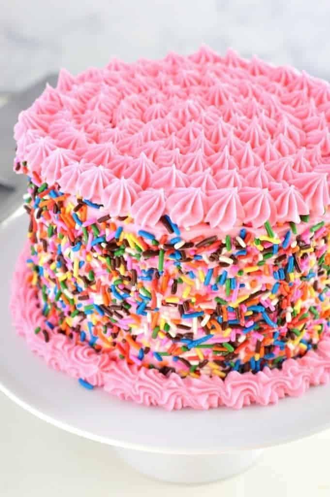 Gluten Free Funfetti Cake What The Fork