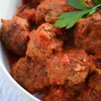 Braised Italian Meatballs and Le Creuset Giveaway