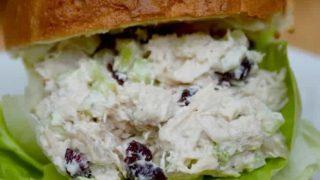 Cherry Craisin Chicken Salad