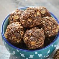 Chocolate Coconut Energy Bites