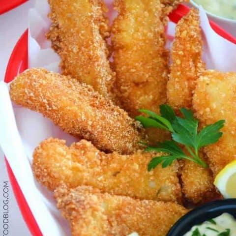 Gluten Free Fish Sticks