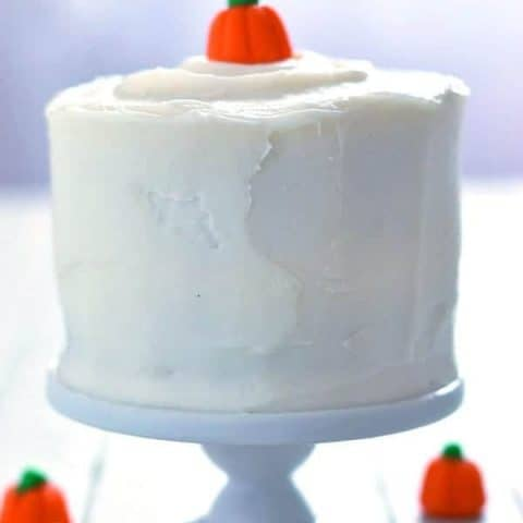 Gluten Free Mini Pumpkin Layer Cake