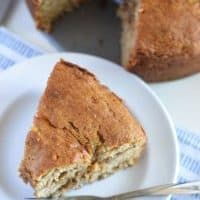 Honey Banana Coffee Cake