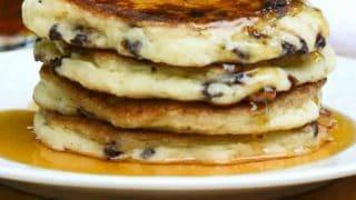 Kelsey's Chocolate Chip Pancakes