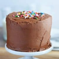 Mini Chocolate Layer Cake Recipe