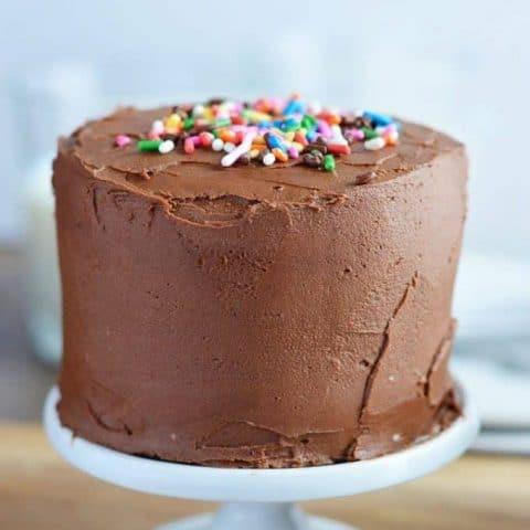 Mini Chocolate Layer Cake Recipe