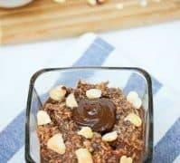 Nutella Overnight Oats