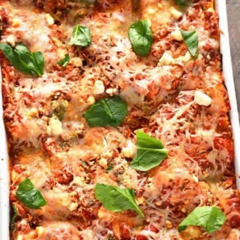 Zucchini Ribbon Lasagna
