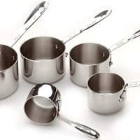 Stainless Steel Measuring Cups for Dry Ingredients