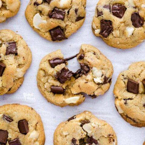 Gluten Free Chocolate Macadamia Nut Cookies