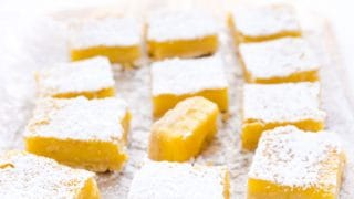Gluten Free Meyer Lemon Bars