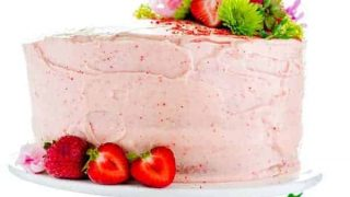 Gluten Free Strawberry Cake Recipe