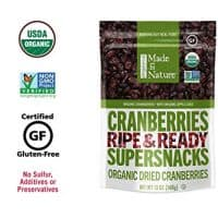 Made in Nature Organic Berries Cranberries, 13oz.