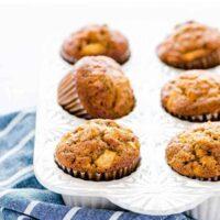 Easy Gluten Free Apple Muffins