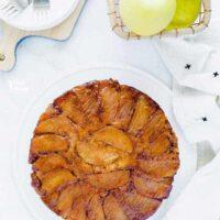 Gluten Free Apple Upside Down Cake