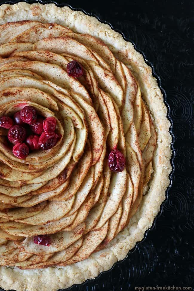 Gluten-free Apple Pear Tart