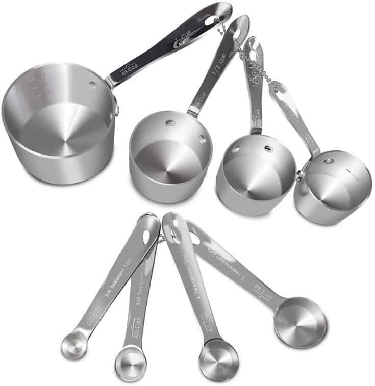 All-Clad Measuring Cups and Spoon Set