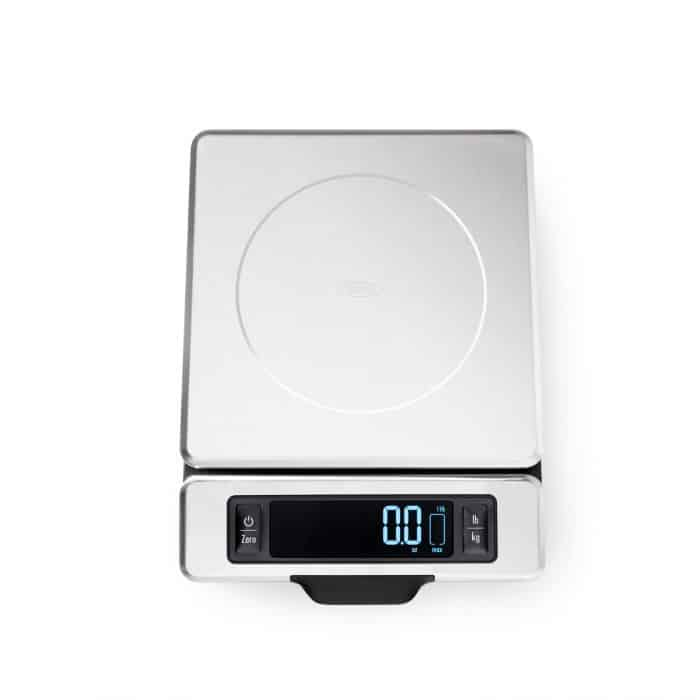 OXO Stainless Steel Food Scale with Pull-Out Display