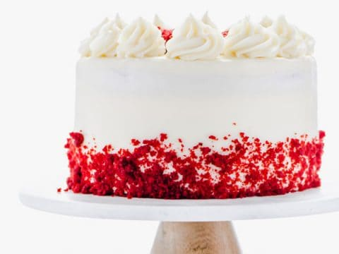 Admirable Gluten Free Red Velvet Cake Recipe What The Fork Personalised Birthday Cards Veneteletsinfo