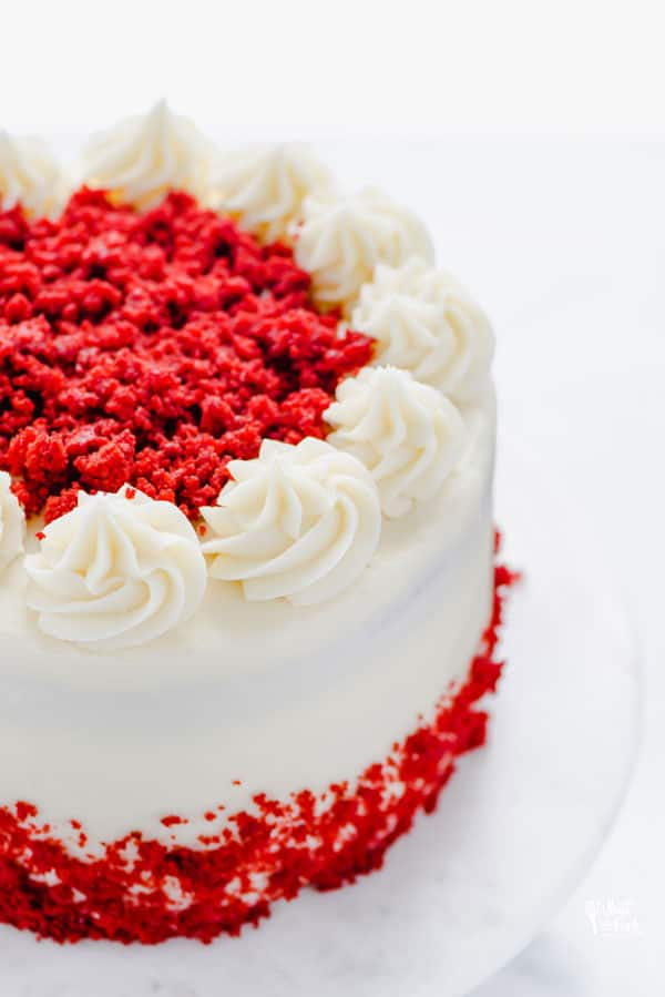 Wondrous Gluten Free Red Velvet Cake Recipe What The Fork Funny Birthday Cards Online Fluifree Goldxyz