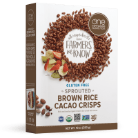 One Degree Organics Sprouted Brown Rice Cacao Crisps