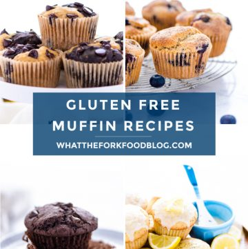 a list of the best gluten free muffins