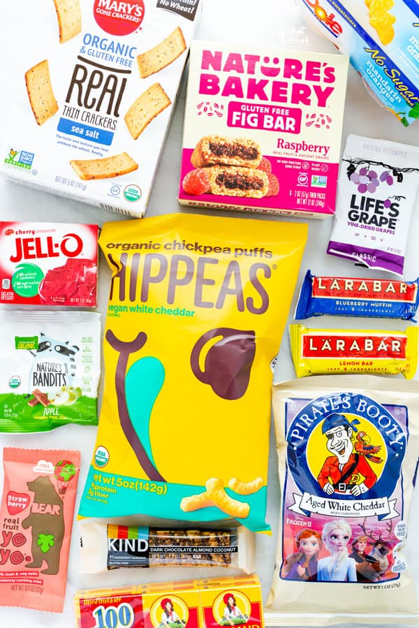 Gluten Free snack foods for an Emergency Food List