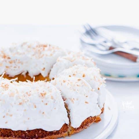 Gluten Free Coconut Pound Cake
