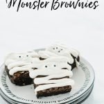 gluten free brownies image with text for Pinterest