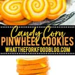 Gluten Free Pinwheel Cookies collage image with text for Pinterest