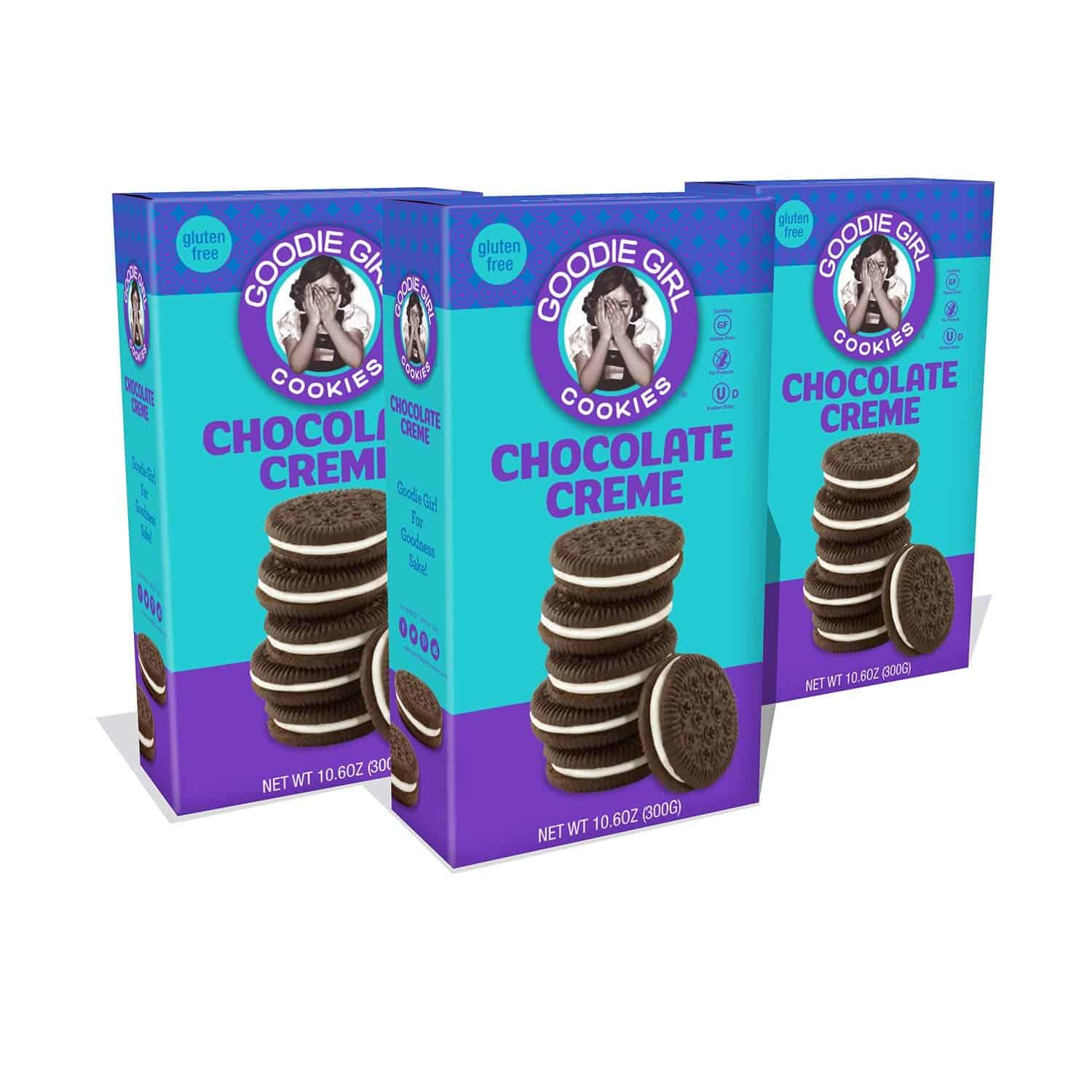 Goodie Girl Gluten Free Cookies, Chocolate Creme