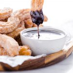 Gluten Free Churros Recipe image with text for Pinterest
